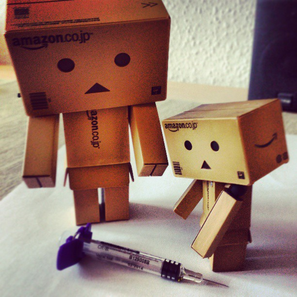 #Danbo first #injection - Instagram auf Pixelino