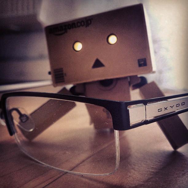 Danbo mit Brille - Instagram auf Pixelino
