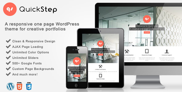 quickstep-one-page-themes