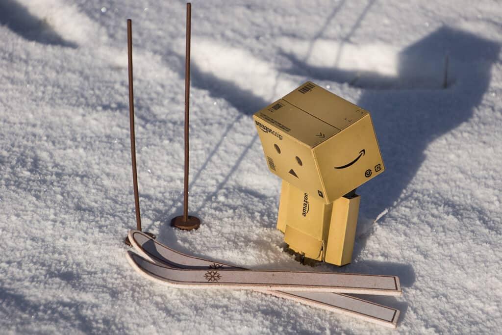 Wintersport für Danbo