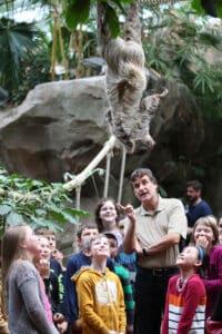 Unterricht in der Zooschule Rostock