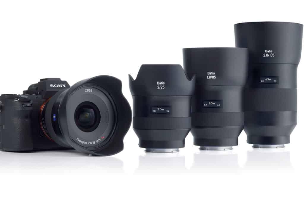 ZEISS Batis Objektive Sony E-Mount