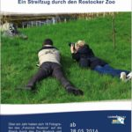 offizielles Plakat der Fotoausstellung - Veranstaltung im Zoo Rostock