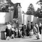 Zoo Rostock Bärenburg Neubau 1959