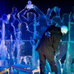 Karls 12. Eiswelt - Eisskulpturen Entstehung