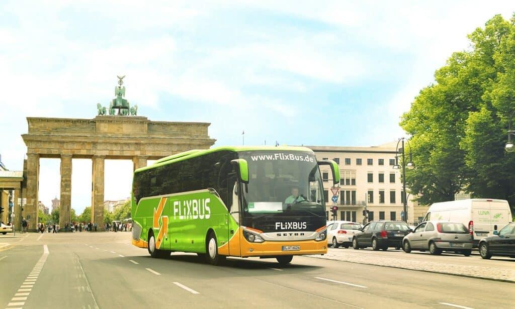 Anreise mit Fernbuss